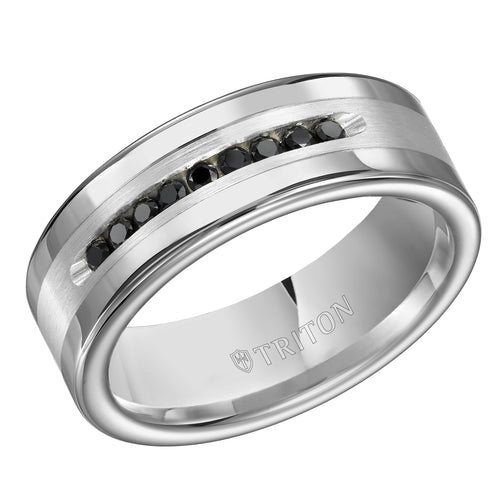 Tungsten Men's Wedding Band - 22-4634SC-G