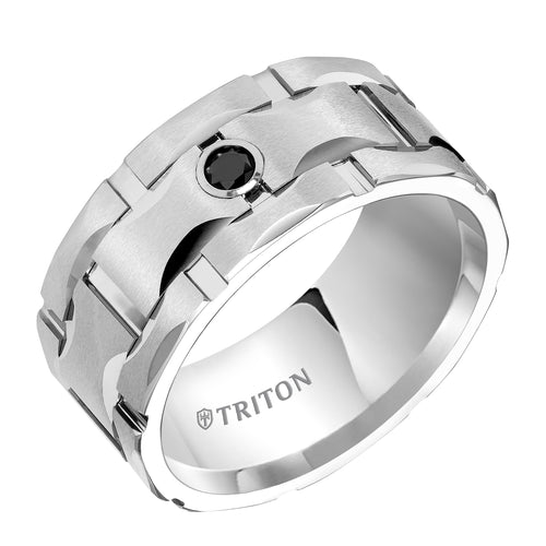 Tungsten Men's Wedding Band - 22-4822HC-G