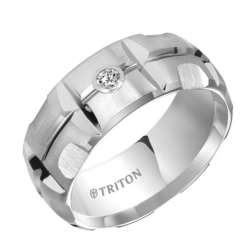 Tungsten Men's Wedding Band - 22-4823HC-G