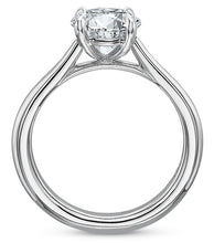 Load image into Gallery viewer, 14K White Gold Engagement Ring