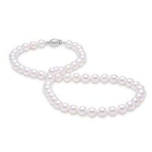 Load image into Gallery viewer, 5.5-6mm Akoya pearl strand necklace