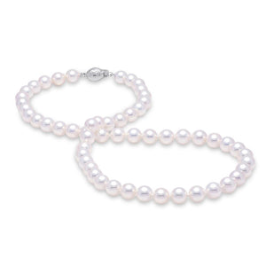 5.5-6mm Akoya pearl strand necklace