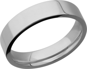 lashbrook titanium collection titanium 5mm flat band