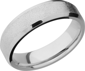 lashbrook titanium collection titanium 6mm beveled band