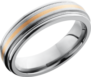 lashbrook titanium collection titanium 6mm flat band