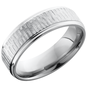 lashbrook titanium collection titanium 7mm flat band