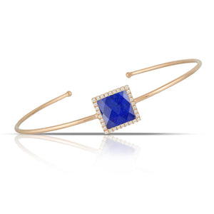 doves royal lapis collection 18k white gold diamond bangle B6796LP