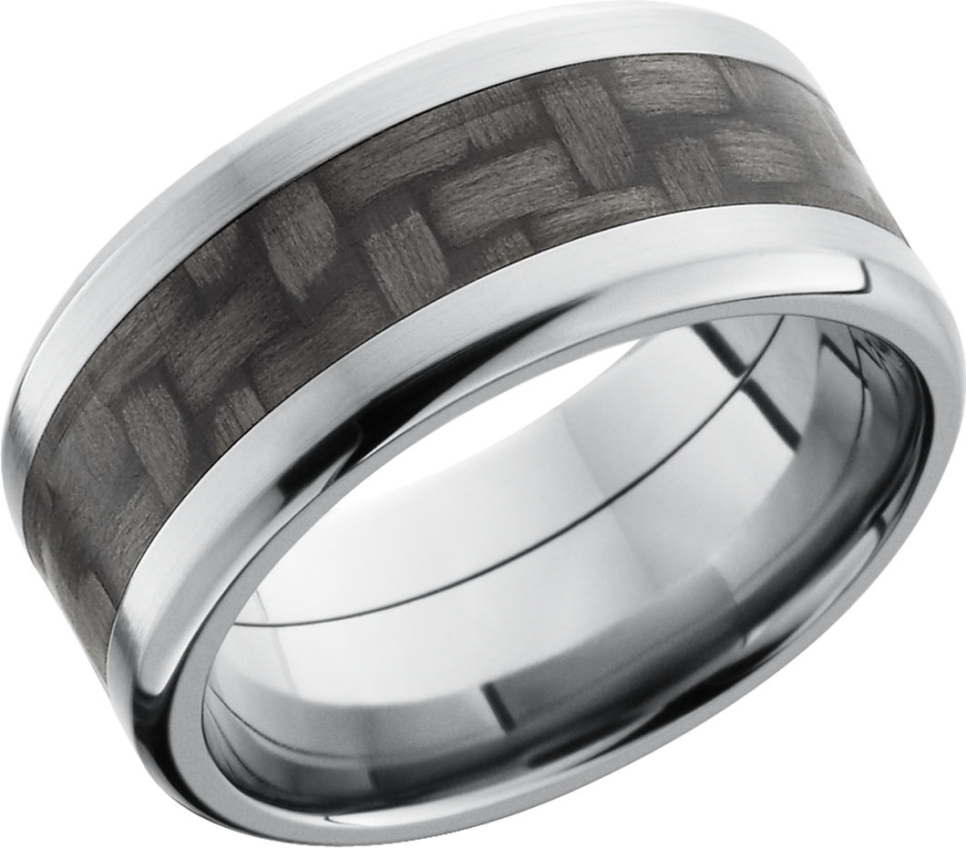 Lashbrook Titanium 10mm Beveled Band