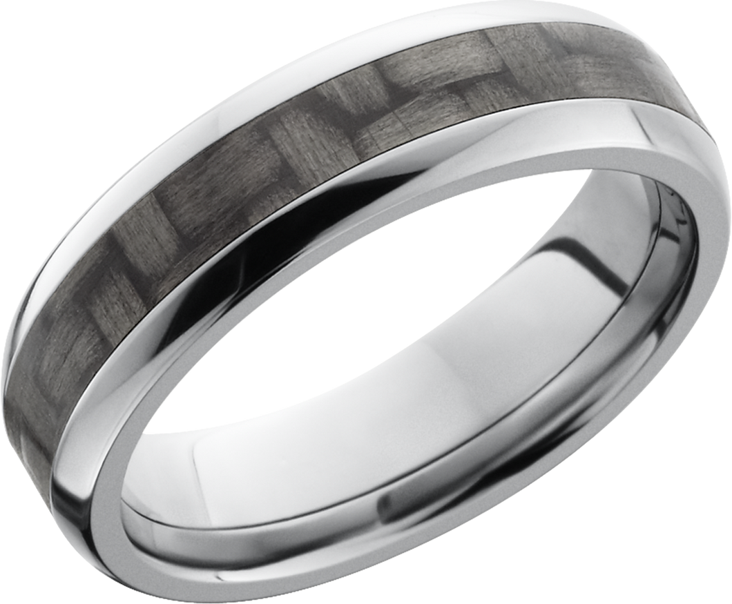 Lashbrook Titanium 6mm Domed Band
