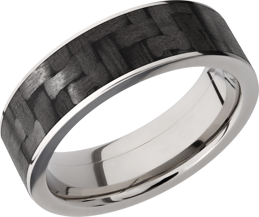 Lashbrook Titanium 7mm Flat Band