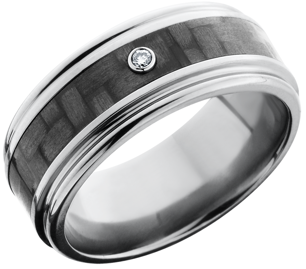 Lashbrook Titanium 9mm Flat Band