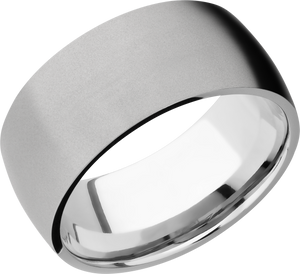 lashbrook cobalt chrome 10mm domed band