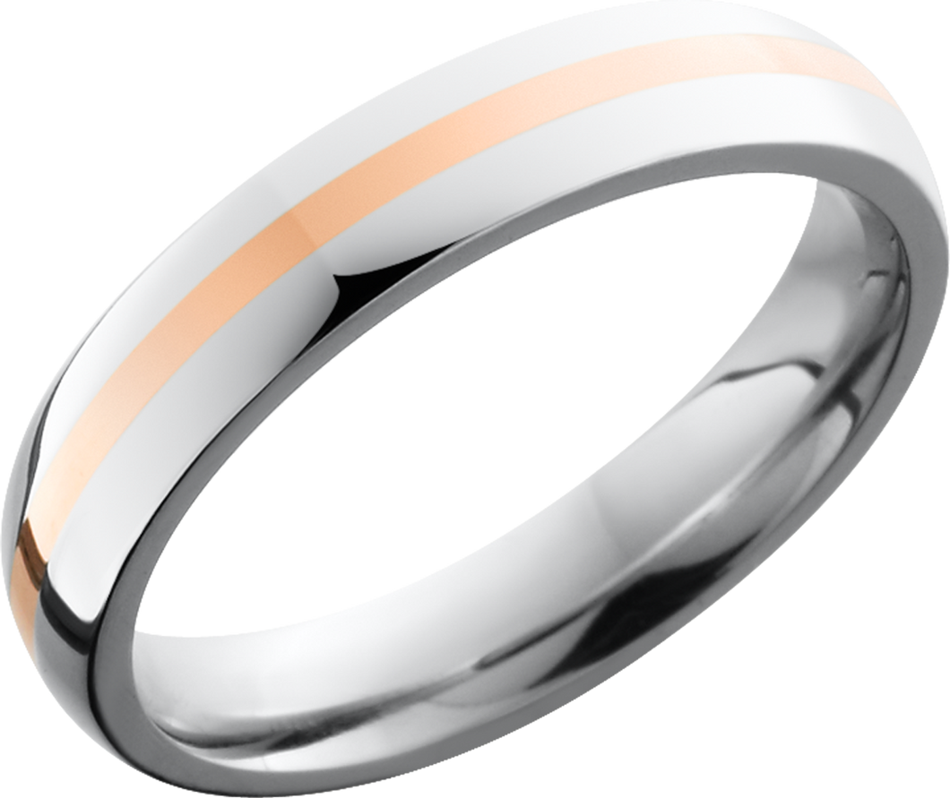 lashbrook cobalt chrome 4mm domed band