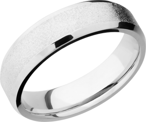 lashbrook cobalt chrome 6mm beveled band