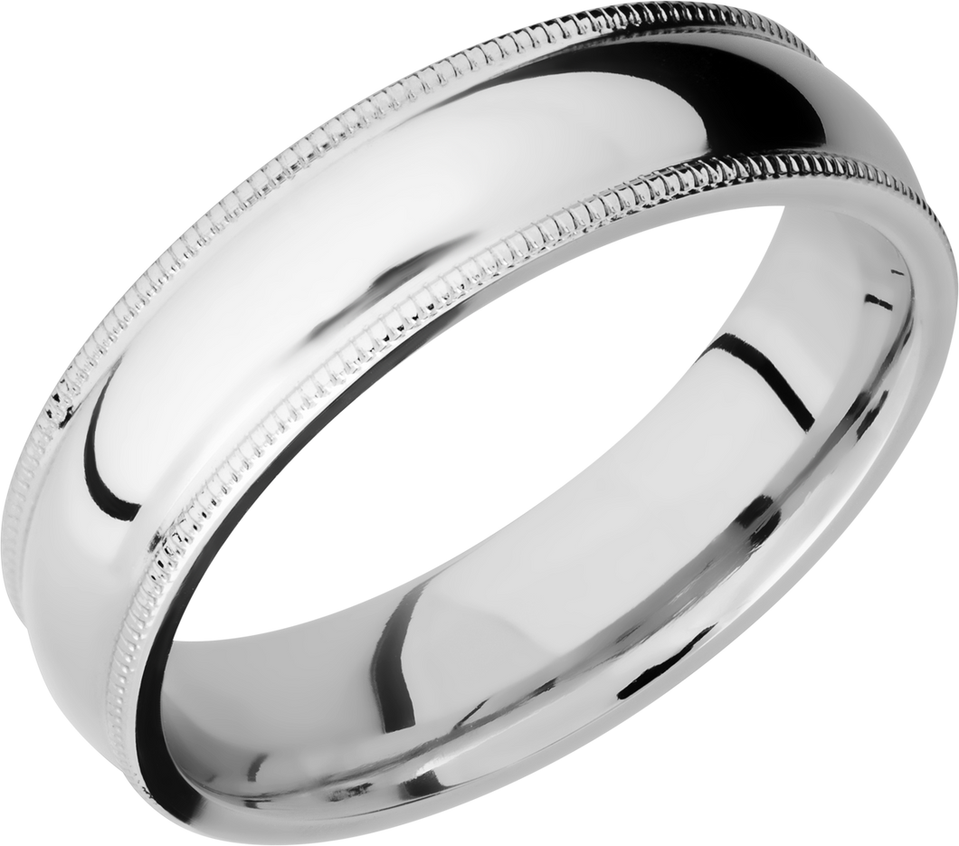 lashbrook classic cobalt chrome 6mm domed band