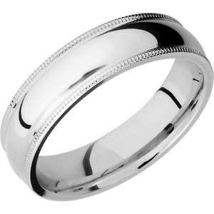 14Kw Wedding Band With Polish Finish
