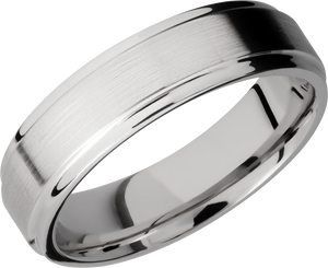 lashbrook cobalt chrome 6mm flat band
