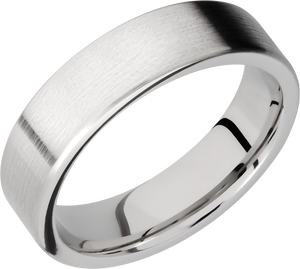 lashbrook classic cobalt chrome 6mm flat band