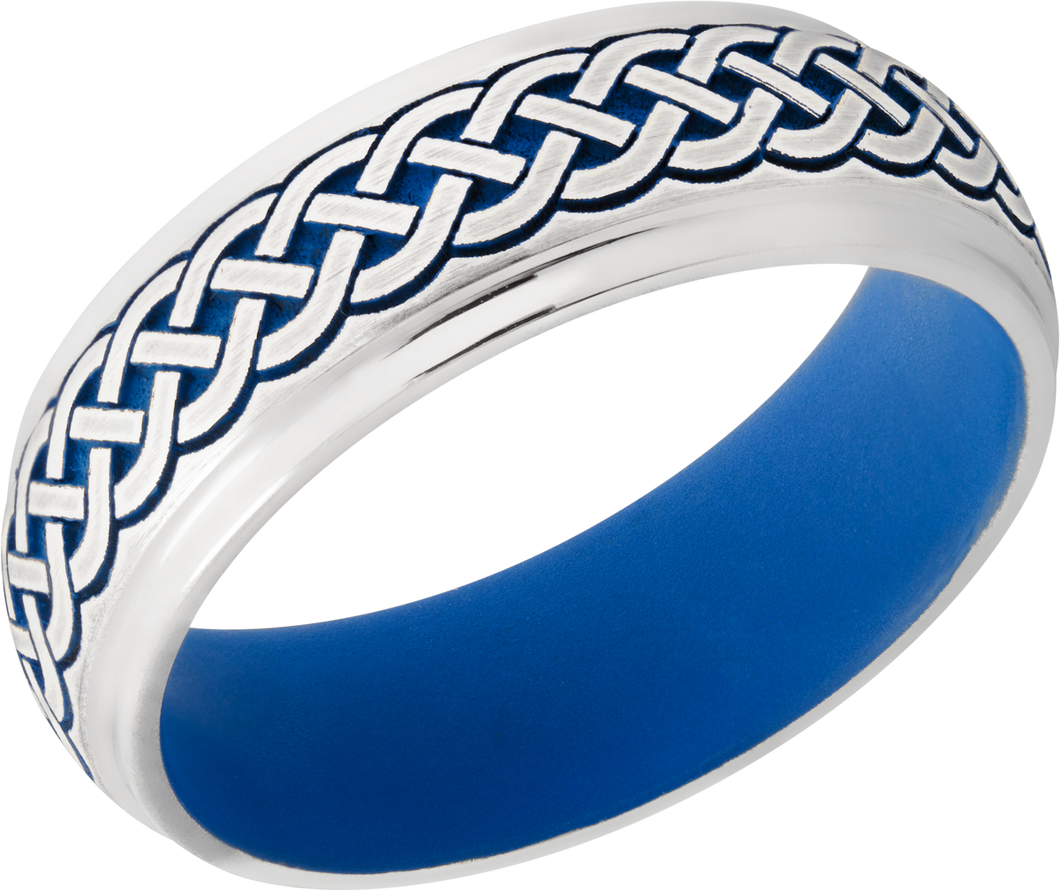Lashbrook Cobalt Chrome 7Mm Domed Band