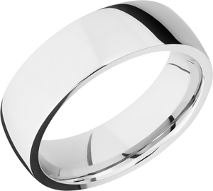 lashbrook classic cobalt chrome 7mm low-domed band