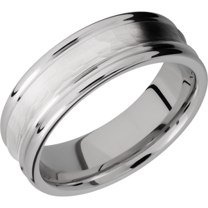 lashbrook cobalt chrome 7mm concave band