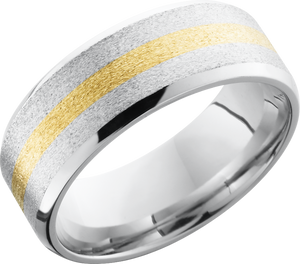 lashbrook cobalt chrome 8mm beveled band