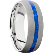 Load image into Gallery viewer, Cobalt Chrome Wedding Band With Sand Finish