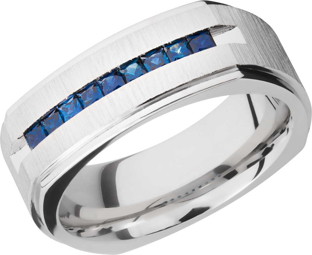 lashbrook cobalt chrome 8mm flat square band