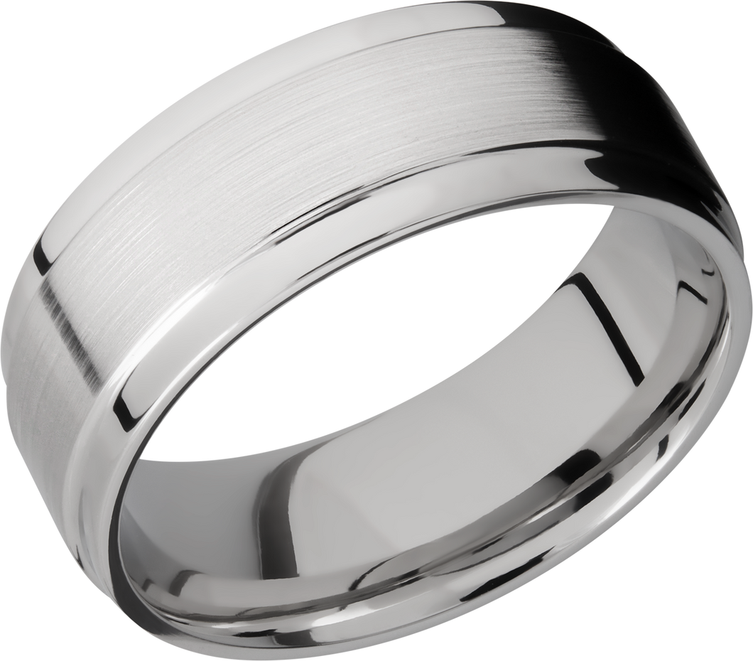 lashbrook classic cobalt chrome 8mm flat band