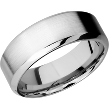 Load image into Gallery viewer, Cobalt Wedding Band With Satin & Polish Finish