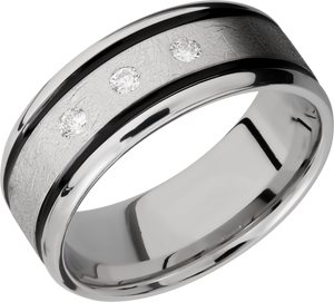 lashbrook cobalt chrome 9mm beveled band