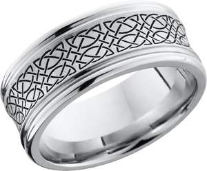 lashbrook cobalt chrome 9mm concave band