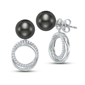 caprice multiway knot earrings