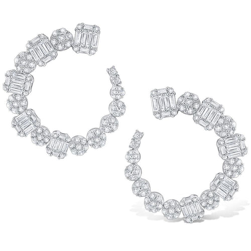 e8633 kc design gold and diamond statement arc earrings from the mosaic collection