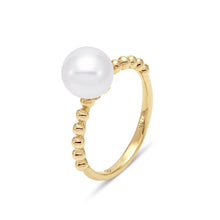 Load image into Gallery viewer, Beaded Pearl Ring