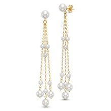 Load image into Gallery viewer, Rosary Tassel Earrings