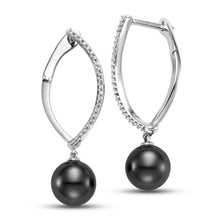 Load image into Gallery viewer, Diamond Drop Earrings