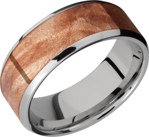 lashbrook hw titanium 8mm beveled band