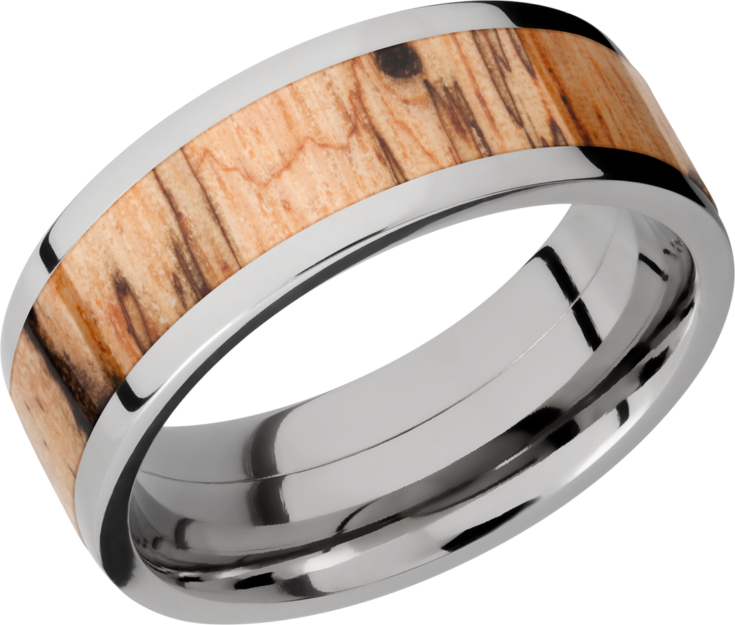 lashbrook hw titanium 8mm flat band