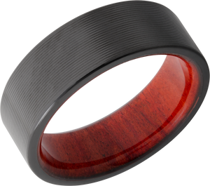 lashbrook hw zirconium 8mm flat band