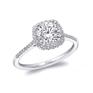 white gold halo cushion cut engagement ring lc5410 coast diamond