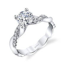 Load image into Gallery viewer, white gold solitaire engagement ring lc7049 coast diamond