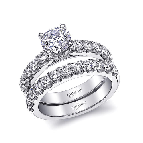 white gold solitaire engagement ring lj6034 coast diamond