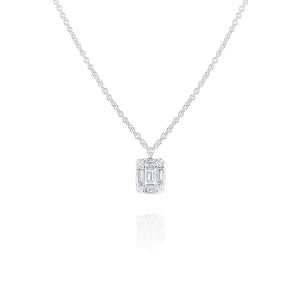 n5891 kc design mini diamond mosaic pendant set in 14 kt. gold