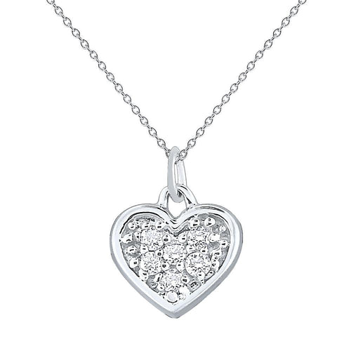 n7880 kc design gold and diamond mini pave diamond heart