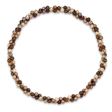 Load image into Gallery viewer, Endless Style Multicolor Baroque Freshwater Pearl Strand Necklace