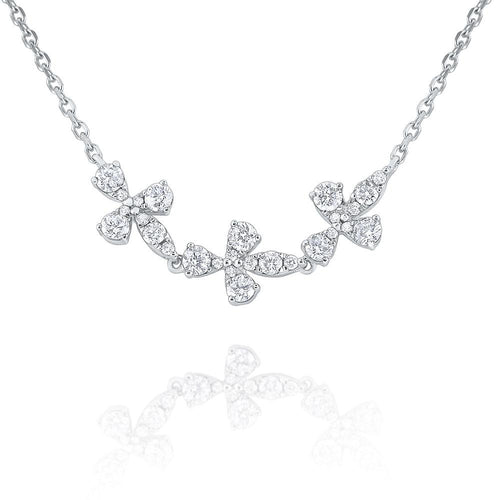 n8696 kc design gold and diamond garden vine necklace