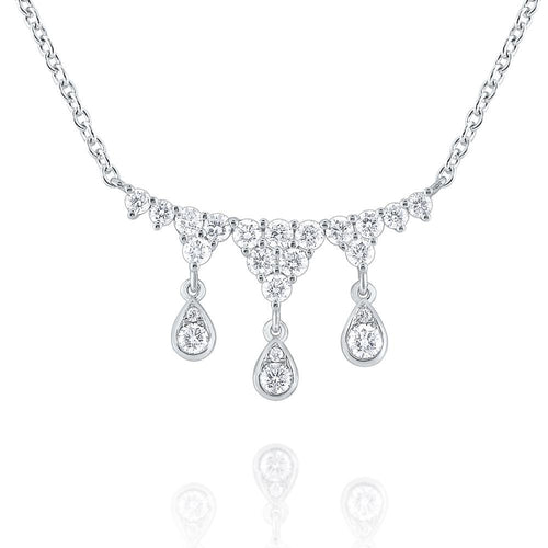 n8698 kc design 14k gold and diamond tiara necklace