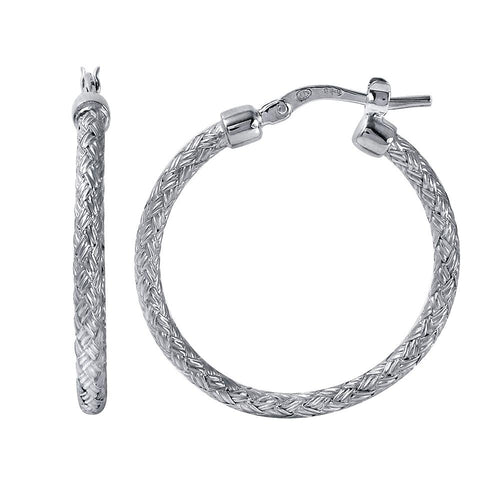 mle8506w25 hoop earrings jody 25mm