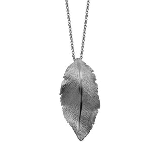 cxp3064w17 leaf pendant with chain